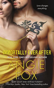 #CoverReveal Immortally Ever After (Monster M*A*S*H #3) by @Angie Fox Expected publication: August 27th 2013 by St. Martin's Paperbacks