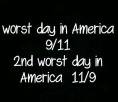 1st and 2nd worst days in America