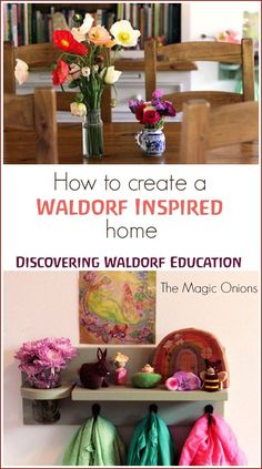 Waldorf Education :: Creating a Waldorf Inspired Home - The Magic Onions Discovering Waldorf Education :: How To Create A Waldorf Inspired Home :: Discovering Waldorf Education :: How To Create A Waldorf Inspired Home :: Waldorf Montessori, Waldorf Preschool, Waldorf Crafts, Waldorf Toys, Waldorf Playroom, Montessori Playroom, Waldorf Education, Kids Education, Early Education