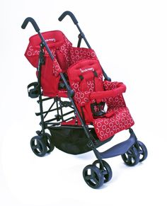 Kinderwagon Hop Double Tandem Stroller