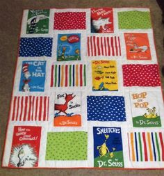Dr. Seuss Storybook Quilt
