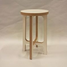 Birch Plywood Stool Or Side Table by SOAP designs, the perfect gift for Explore more unique gifts in our curated marketplace. Painted Bedroom Furniture, Furniture Layout, Furniture Arrangement, Plywood Furniture, Living Furniture, Diy Furniture, Furniture Design, Trendy Furniture, Colorful Furniture