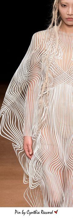 Iris Van Herpen | FW 2017 Haute Couture | cynthia reccord