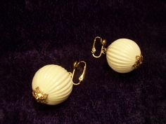 """Sarah Conventry """"High Fashion"""" Earrings from 1977"""