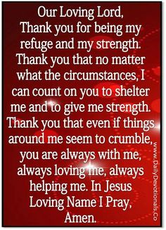 Amen....it's pretty wild this was the first prayer I saw when I looked here at 3:15 am at a very difficult & trying time...thank you, Lord
