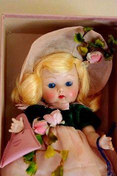 "VOGUE STRUNG GINNY 1952 DEBUTANTE ""KAREN"" #63 Gorgeous Blonde CRISP w/BOX & TAG  #VOGUE #VOGUE1950SSTRUNGHPGINNYDOLL"