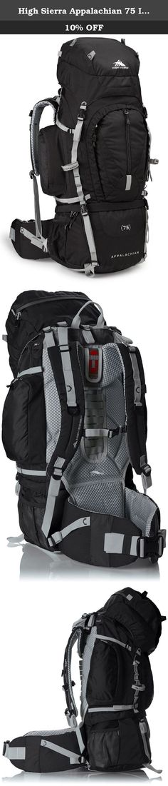 High Sierra Appalachian 75 Internal Frame Pack, Black/Black/Silver. High Sierra designs feature-rich, versatile adventure High Sierra designs feature-rich, versatile adventure lifestyle gear for adventurers everywhere. Since our founding in 1978, we've committed ourselves to creating durable, affordable product with distinctive details, delivering the freedom to go anywhere-near or far, on roads or trails, on mountain ridges or snowy slopes, no matter what form your adventure takes. High...
