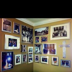 My Wedding Photo Wall :-)