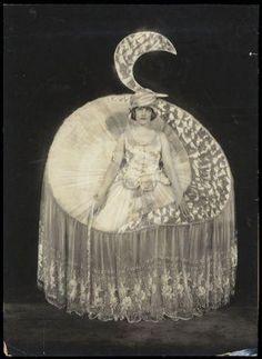 Elizabeth (aka Betty) Morton as « Moonlight », Ziegfeld Follies, Alfred Cheney Johnston, 1920