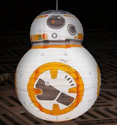 Fresh BB Lightshade gorgeous paper lightshade perfect for a stars wars bedroom