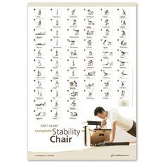 Stott Pilates Complete Stability Chair Wall Chart
