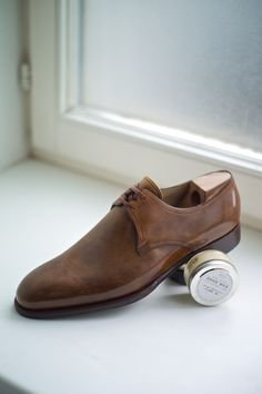 Classically Elegant The Two Eyelet Derby  Saint Crispins at The Armoury