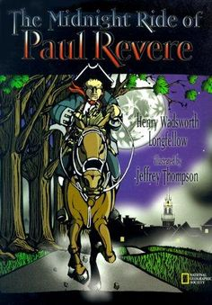 The midnight ride of Paul Revere by Henry Wadsworth Longfellow, unpaged