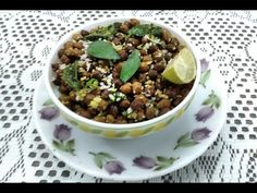 It is instant recipe with Black Chickpeas contend with high source of proteins and fibers. It is easy to cook in pressure cooker with some spices and fresh lemon juice. Watch and make this healthy and Tasty Recipe..! enjoy it.