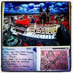 #postcrossing #postcard #stamp #czechrepublic #praha #prague #kartpostal #pul #çekcumhuriyeti #prag