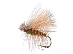 Banded Olive Elk Hair Caddis - The banding give this fly the edge, replicating the naturals better than any other product on the market.