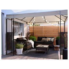 Pergola For Small Backyard Backyard Patio Designs, Backyard Landscaping, Terrazas Chill Out, Garden Sitting Areas, Terrasse Design, Hot Tub Garden, Garden Gazebo, Rooftop Garden, Garden Stakes