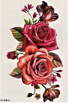 Pink Flowers Festival Source by Rose Drawing Tattoo, Flower Art Drawing, Pink Rose Tattoos, Flower Tattoos, Beautiful Flowers Wallpapers, Beautiful Roses, Botanical Flowers, Pink Flowers, Tattoo Minimaliste