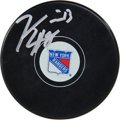 Steiner Kevin Hayes Signed New York Rangers Puck