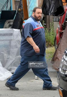 Kevin James is seen on the set of 'Grown Ups 2' on June 25, 2012 in Boston…