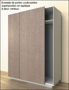 Quincaillerie pour portes coulissantes superposées en applique - Lee Valley Tools