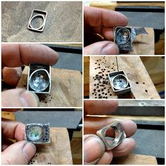 Handmade Jewelry by LjB: Hollow Form Obsession