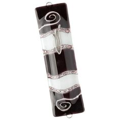 My Glass Expressions Mezuzah Tulip Red