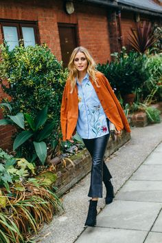 Olivia Palermo Just Wore 3 Zara Outfits in a Row—Shop Them All via @WhoWhatWearUK