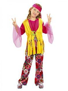 Tienda online SERVI-FIESTA - Disfraces - Disfraces infantil - Niña - DISFRAZ DE NIÑA HIPPIE