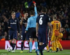 Barcelona 0-1 Atletico Madrid UEFA Champions League LIVE score | Daily Mail Online