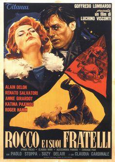 Rocco Fratelli 1960 di Luchino Visconti con Alain Delon, Renato Salvatori, Annie Girardot, e Claudia Cardinale