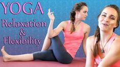 Yoga Beginners Flexibility & Relaxation Flow, 20 Minute Stretch Workout ...