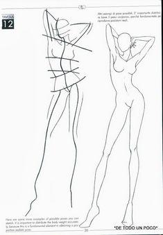 -015 Fashion Figure Drawing, Fashion Model Drawing, Fashion Design Drawings, Model Sketch, Figure Poses, Sketch Design, Illustration Tutorial, Fashion Illustration Sketches, Fashion Sketches