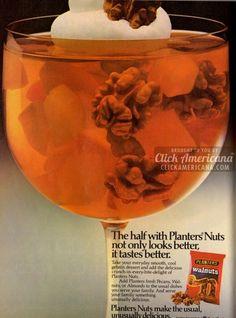 Add some nuts to your gelatin dessert (1981)