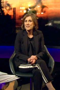 Newsnight's Kirsty Wark sparked a Twitter furore while wearing a tailored pair of tracksuit trousers on air last week - but luxury sportswear (for any occasion) is here to stay.