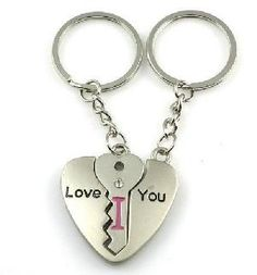 Cute couples keychain