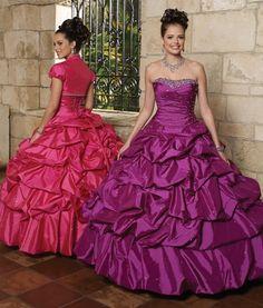 Discount Sexy Strapless Qurple Quinceanera Dresses 87044