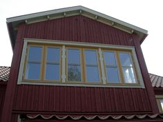 Fönster i takkupor som är tillverkade av rm-fönster, specialisten med egen fönsterfabrik
