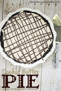 i should be mopping the floor: Cookie Butter Pie with Biscoff Spread