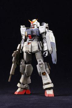 RX-79 [G] Ground Type Gundam Gundam Wing, Gundam Art, Gunpla Custom, Custom Gundam, Ground Type, Real Robots, Gundam Seed, Mecha Anime, Medieval Armor