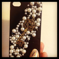 My homemade IPhone Case. Cost £20-30 online...cost me £5.35 and 3 hours!!  Woop woop!