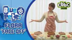 GBBO Flora takes on 'Face Off' challenge - CBBC Blue Peter