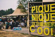 """""""We Love Green"""" electronic music festival held in Paris with an eco-friendly ethic. The line-up included LCD Soundsystem, Air, PJ Harvey, Amon Tobin, and James Blake."""