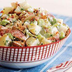 Savory Potato Salad Recipe | MyRecipes.com