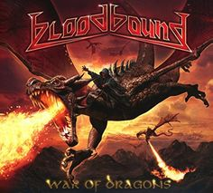 War of Dragons:   Strictly limited box set containing two CDs in a digipak, flag with cover design, metal pin, signed photo card, sticker, certificate of authenticity and everything in a clamshell box. 2017 release. It's been an impressive journey for Bloodbound: The Swedish power metal commando has become more and more popular in recent years. All this falls back on talent and hard work: Since 2005 Bloodbound has not only released six studio albums and a Live DVD/CD, they have also to...