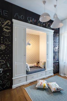 Эклектичная квартира семьи украинской художницы – Красивые квартиры