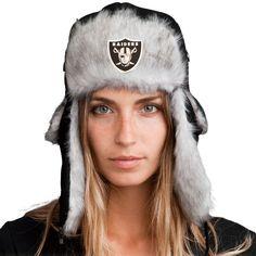 Bomber Hat + FREE Oakland Raiders Pin ($8 value!)