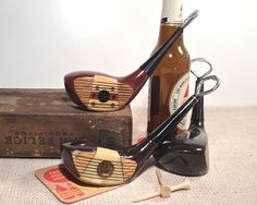 Vintage Golf Club Bottle Opener / Wood Driver by perfectpatina, $38.00