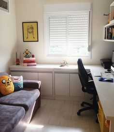 Home Office – Home Decor Designs Home Office Design, Home Office Decor, Office Furniture, Home Furniture, Furniture Design, House Design, Furniture Storage, Office Interiors, Sweet Home