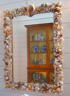 Espejo de cáscara de Susan